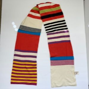 St. John's Bay Multicolor Stripes Scarf